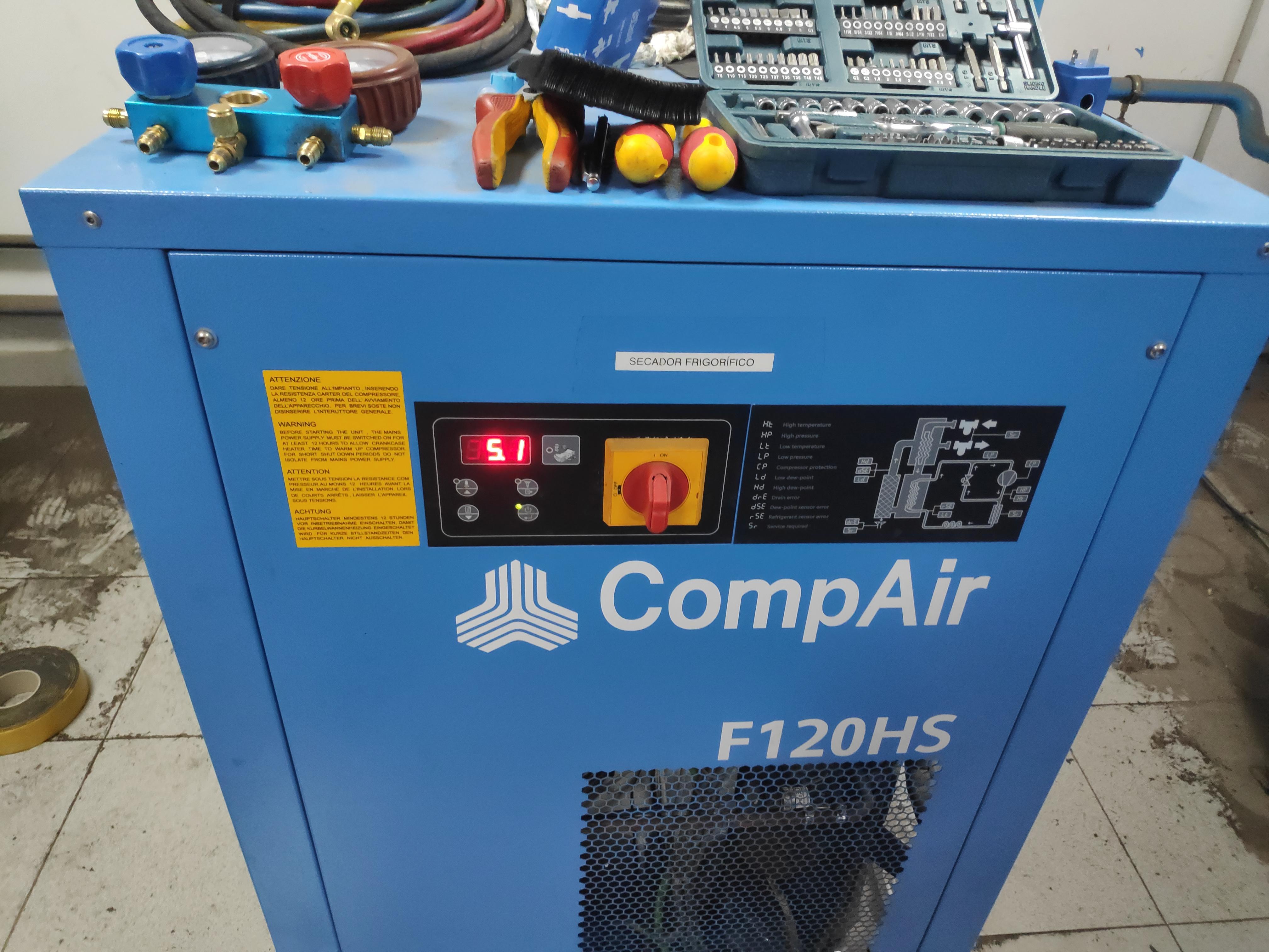 reparación de secadores frigoríficos en Sevilla