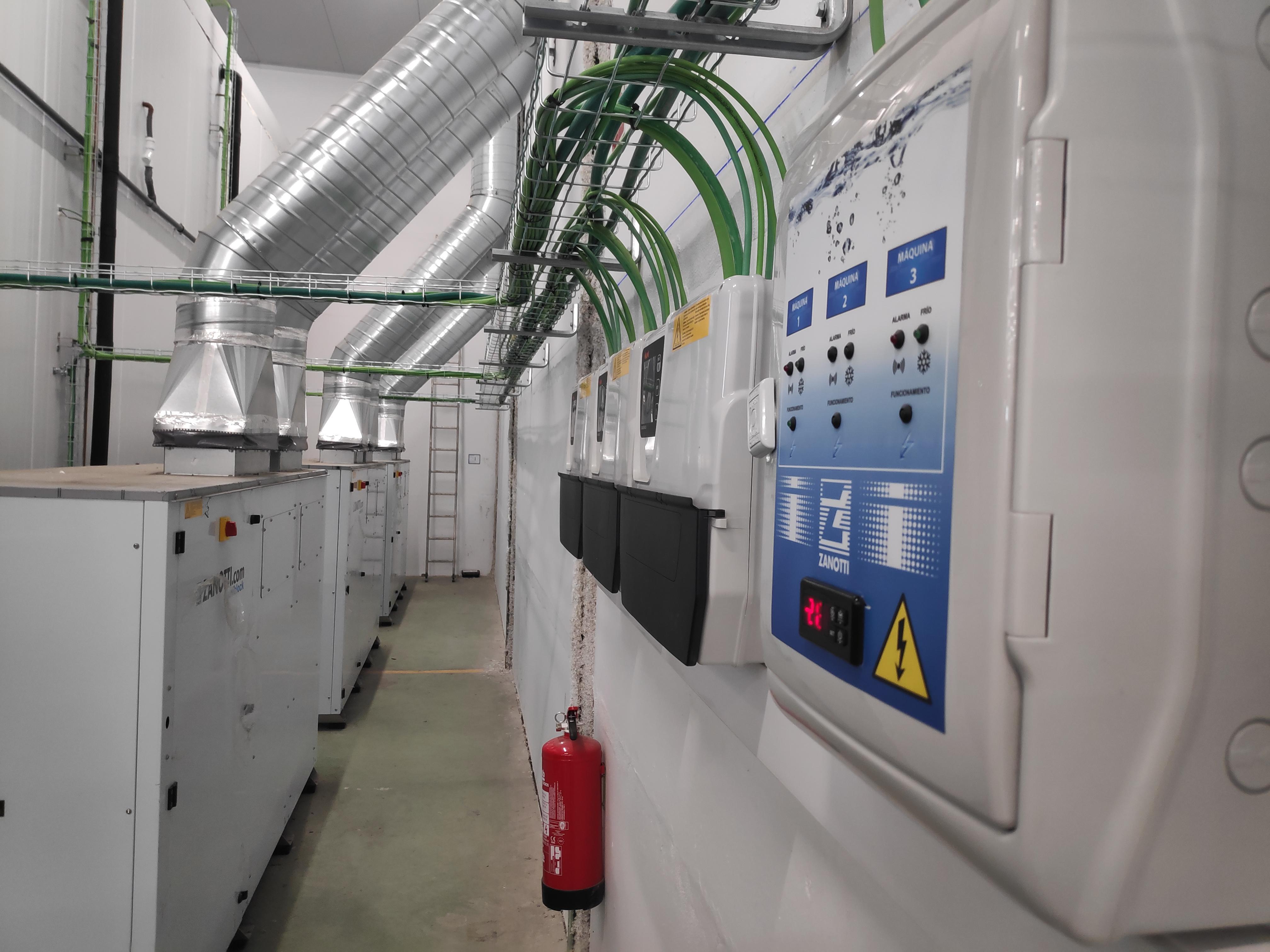 reparación de cámaras frigoríficas ZANOTTI en Sevilla